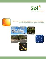 Integrated Solar Street Light Integrated Solar Streetlight Solar Street Light Brochure