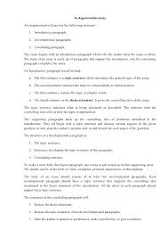 essay structure co argumentative essay structure