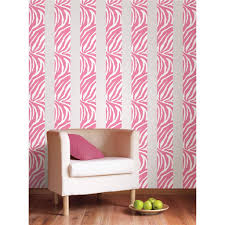 Pink Zebra Wallpaper For Bedrooms Similiar Pink Wall Borders For Rooms Keywords