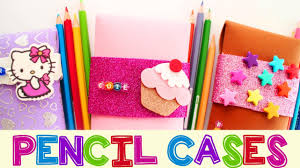 Decorate Pencil Case How To Make Foam Pencil Cases School Crafts Simplekidscrafts