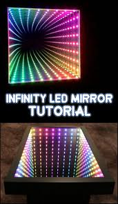 make your own lighting. Learn How To Make Your Own Awesome Infinity LED Mirror By Viewing The Step-by-step Tutorial Here! Lighting !