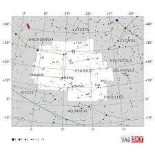 Pegasus Star Chart Pegasus Iau Star Chart Constellations Astronomy