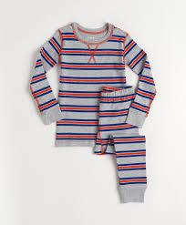 Pact Toddler's Royal Stripe Long Sleeve <b>Pajamas</b>