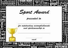 25 Sports Certificates In Pdf Sample Templates Digital Media Us