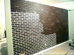 beautiful faux brick walls how to use them in the interior wall panels colors finishes