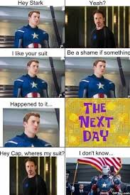 ironman x captain america | Iron man vs. Captain America - Funny ... via Relatably.com