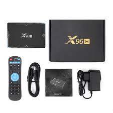 TTVBOX Mới 6K Android 9.0 Smart TV BOX X96H Allwinner H603 HDMI Bluetooth  4.1 USB 3.0 2.4G 5 wiFi 2/4G 16/32/64G Đa Phương Tiện Set-top Boxes