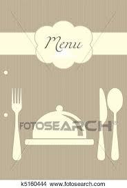 Restaurant Menu Background Clipart
