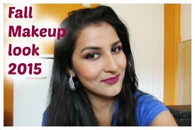 dark skin fall makeup look 2016 for indian olive brown tan skin tone