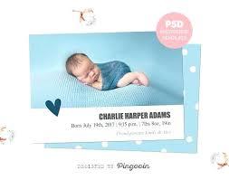 Baby Boy Announcements Templates Baby Boy Announcements Free Templates Birth Announcement Template