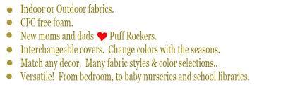 puff chair fabrics