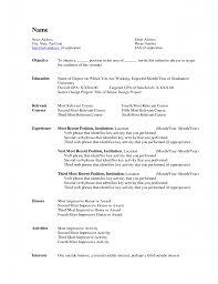 Professional Resume Templates Word Bestresume Com
