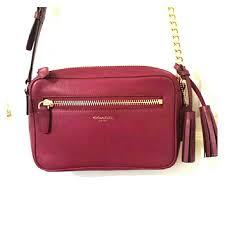 Coach Legacy leather flight bag