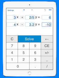 screenshot 4 for system of linear equations solver and calculator for solving systems of linear