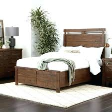 reclaimed wood queen bed – safeproducts