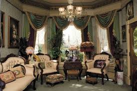 ... Victorian Living Room Curtain Ideas  Victorian Style ...