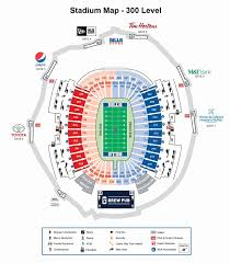 Giants Field Seating Chart Lincoln Financial Field Seating Map First Niagara Pavilion