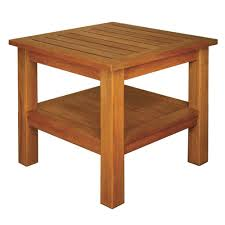 blue star group terrace mates 2 shelf high end square patio table