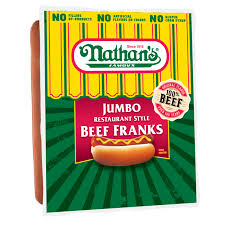Nathan's Hot Dog Vending Machine Beauteous Nathan's Famous Original Jumbo Restaurant Style Beef Franks Great