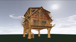 Jeremiah Johnson TreeHouse Floorplan YouTube