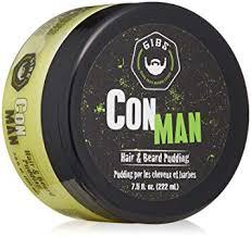 gibs grooming con man hair pudding 7 5 ounce