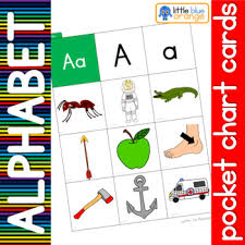 Alphabet Beginning Sound Pocket Chart Cards