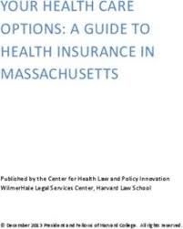 Your Health Care Options A Guide To Health Insurance In
