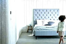 high upholstered headboard. Beautiful High High Tufted Headboard Grey Padded Upholstered King Size Gray Back    Intended High Upholstered Headboard C