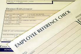 Reference Verification Form When Should You Undertake Employee Background Checks Inside Small