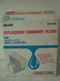 kenmore quiet comfort. image is loading box-of-2-sears-replacement-humidifier-filters-for- kenmore quiet comfort f