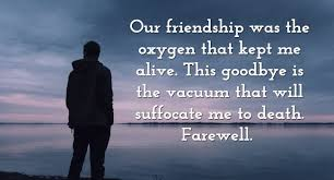 Heart Touching Goodbye Messages For Friends Farewell Quotes Wishes Mesmerizing Goodbye Friendship