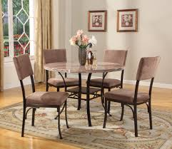 Round Marble Table Set Roundhill Furniture