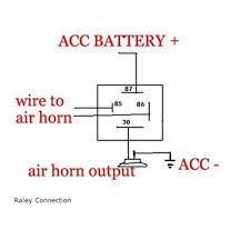 triple air horn wiring diagram wiring diagram for you • triple air horn wiring diagram wiring library rh 78 csu lichtenhof de simple 12v horn wiring