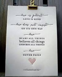 Bible Quotes On Love Best Bookmark With Quote From Wedding Ceremony Me Pinterest