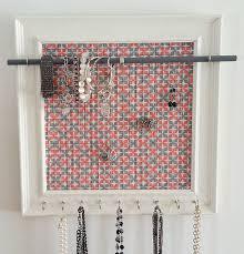 Wall Jewelry Organizer Diy Handmade Jewelry Frame Display Crafthubs