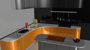 Kitchen Modeling Sudhish Sivan 3d Modeling 02 Kitchen