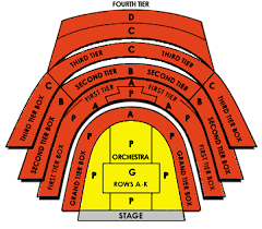 New Jersey Performing Arts Center Seating Chart Prudential Hall At New Jersey Performing Arts Center Seating
