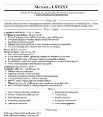What Is Objective On A Resume Copywriter And Editor Objectives Resume Objective Livecareer