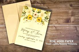 Birch Wood Wedding Invite Invitations Invitation Maker App Iphone