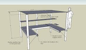 Michael Giambalvo U-shaped desk/loft design 1 ...