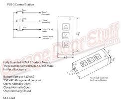garage door switchOpen Close Stop Switch Wiring Diagram Craftsman Door Opener Wiring