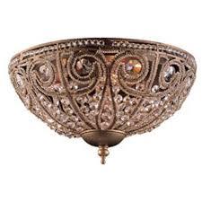 e59623 elizabethan flush mount ceiling light dark bronze at fergusonshowrooms com