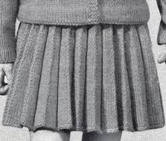 Knit Skirt Pattern Interesting Girl's Knife Pleated Skirt Pattern Sizes 44848 448 448 48 48 144848