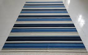blue and white striped rug 5 8 best decor things regarding plans
