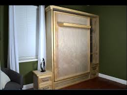 Diy Murphy Bed Build Wall bed Hack Without the Hardware Kit YouTube