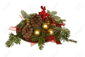 Pine Branches For Decoration Old Fashioned Christmas Decoration With Pine Branch Pine Cones
