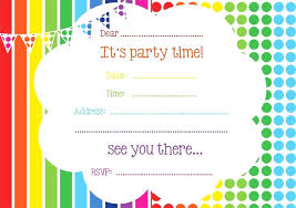 Online Printable Birthday Party Invitations Design Own Party Invitations Free Cryptoforpak