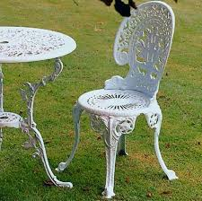 metal garden chairs stunning