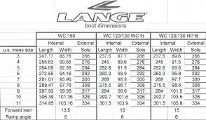 How To Size Ski Boots Chart Lange Ski Boot Size Chart Www Bedowntowndaytona Com