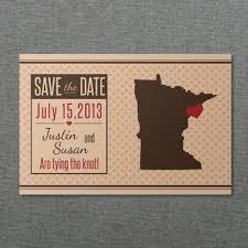 Minnesota Save The Date Postcard Template